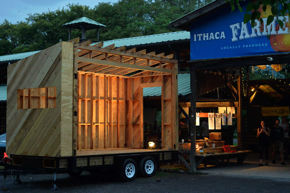 community tool library goes on the road ithaca