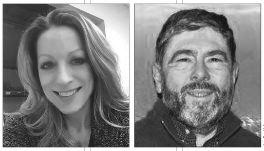 Christine Nash (left) and David Bravo-Cullen (right) are the two Republican candidates vying for the open seats on the Dryden Village Board of Trustees.