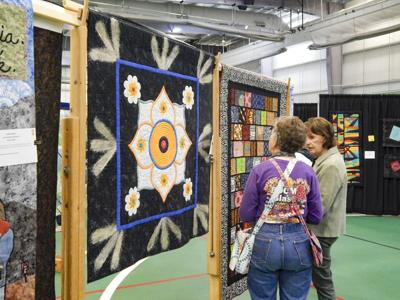 Quilters Guild show
