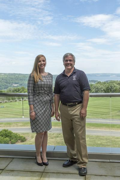 Amanda Lippincott and Dave Maley of Ithaca College