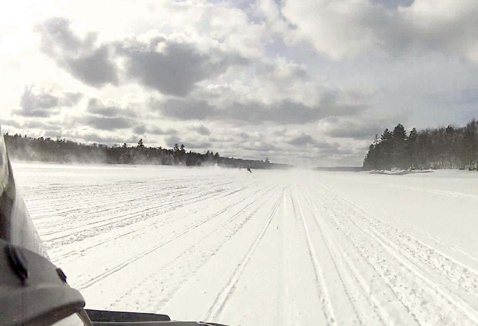 Snowmobile View