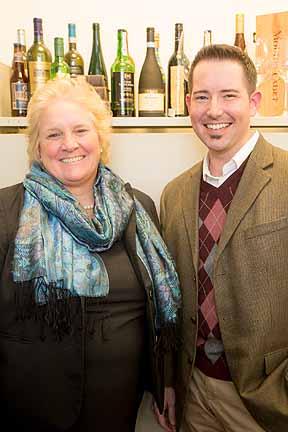 Sue Stafford and Brandon Seager
