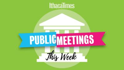 Public Meetings This Week