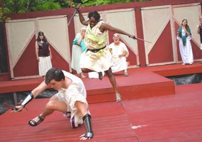 Ithaca Shakespeare Festival rehearsals