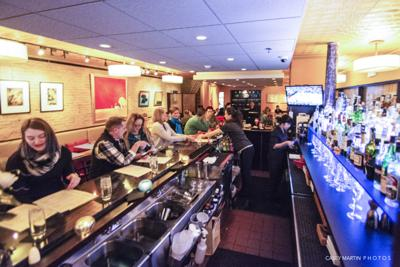 Mia is a popular tapas spot on the Commons in downtown Ithaca, one of a few similar spots in the area.
