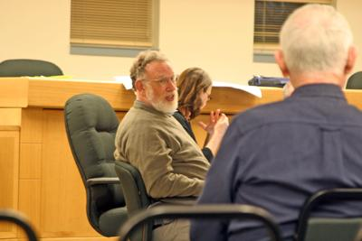 David Weinstein (above) and other members of the Varna Re-Zoning Subcommittee presented amendments to the hamlet's zoning regulations at a meeting on Sept. 26.
