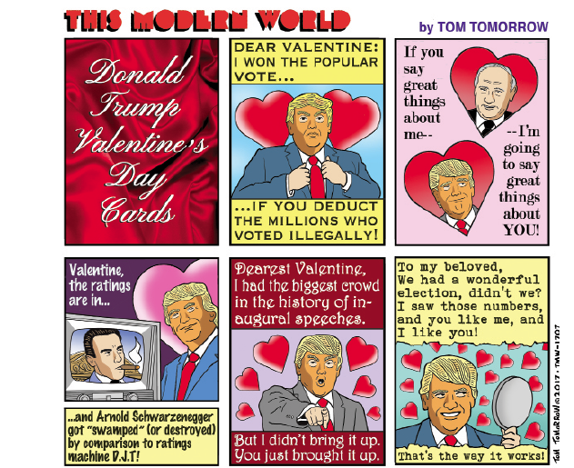 Donald Trump Valentine S Day Cards Opinion Ithaca Com