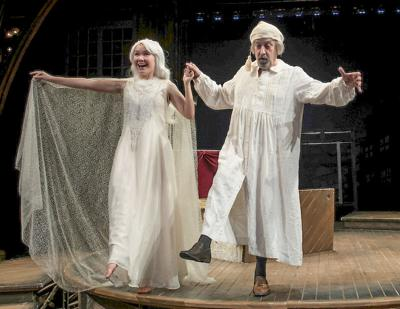 A Christmas Carol Ghosts.Hangar S A Christmas Carol Shows Growth In Second Year