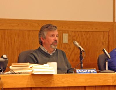 Lansing Town Supervisor Edward LaVigne, along with a councilpersons Joseph Wetmore and Andra Benson, expressed their interest in convincing the Cayuga Power Plant to convert one of its power turbines from coal to solar energy instead of coal to natural gas at a meeting April 17.