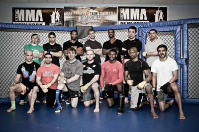 Ithaca's Team BombSquad finding footing on national MMA