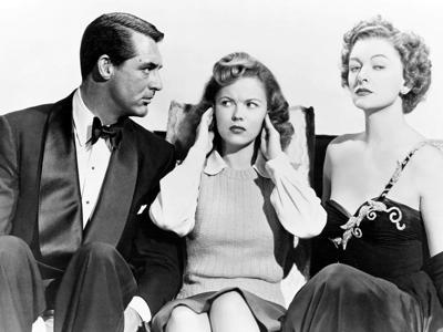 Cary Grant, Shirley Temple, and Myrna Loy in The Bachelor and the Bobby-Soxer (1947) at Cinemapolis Feb. 16