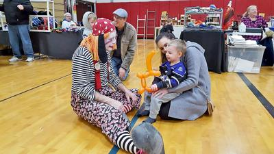 CrossRoads the Clown will be in attendance this year's Groton Cabin Fever Festival again to bring joy to local children.