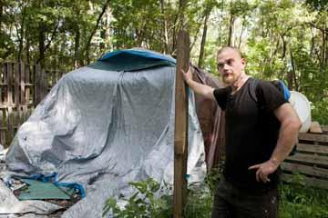 Jungle II resident Michael Morrell