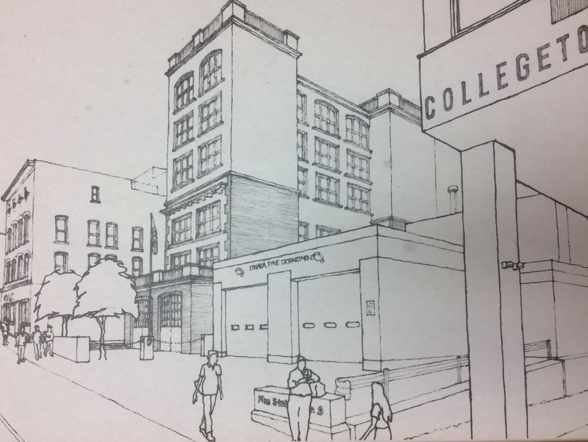 The Nines redevelopment sketch