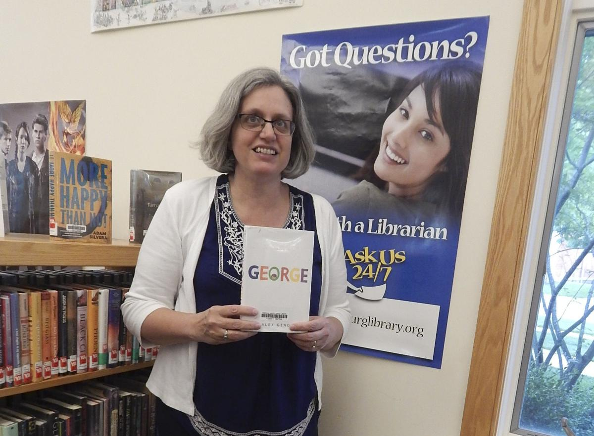 Annette Birdsall, librarian at Ulysses Philomathic Library in Trumansburg