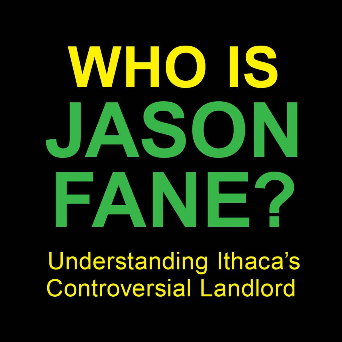 You don't know Jason Fane | Ithaca | ithaca com