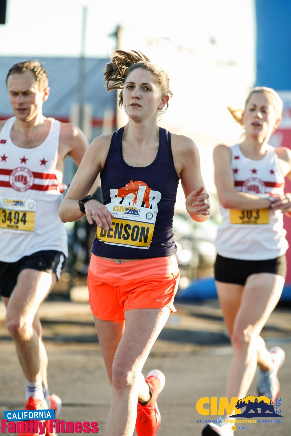 Chelsea Benson is one of three runners with local ties vying to make the olympics