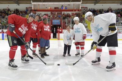 The Racker Rivals Big Red features everyone from NHL players to local financial executives and has become one of Ithaca's favorite events.