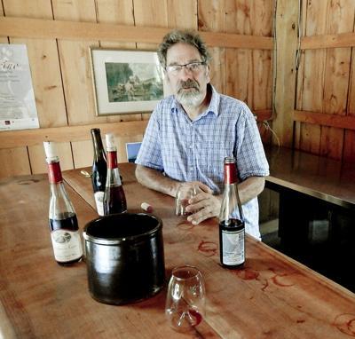 John Tamburello of Glen Haven Farm Winery