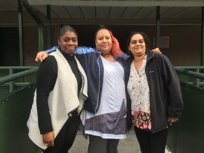 Jamila Simon, Melissa Meléndez, and Anisah Mohammed