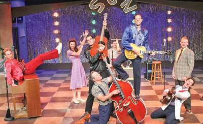 Million Dollar Quartet, about a bygone era of rock and roll, is playing at the CRT until Sept. 13. Stage