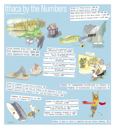 Ithaca By the Numbers