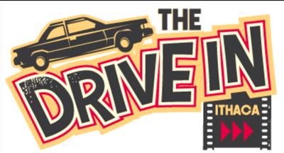 ithaca drive in logo