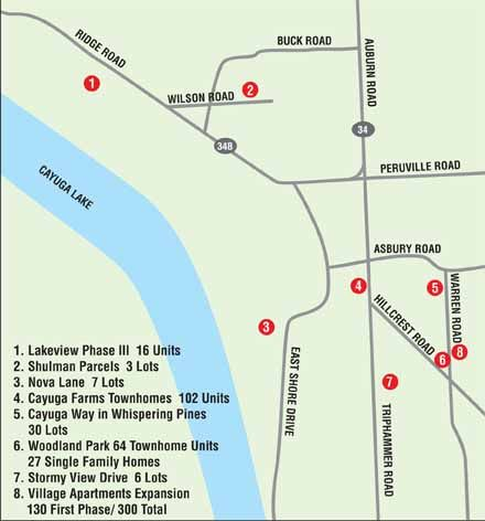 Lansing Development Map