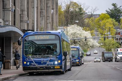 Electric bus day launch fun destinations signs Photos by Trevor Jensen (002).jpg