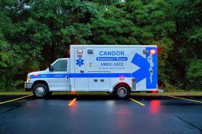 Candor Emergency Squad asked the Candor Town Board for funds to pay employees at a recent town board meeting.