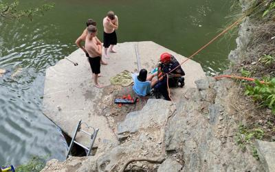 Rope rescue July 6