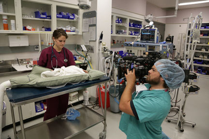 National Geographic Makes Celebrities of Cornell Vet