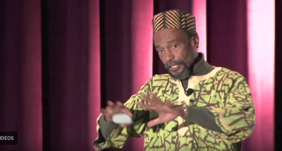 Kirby Edmonds, speaking at a TedX Talk at Cornell last year.