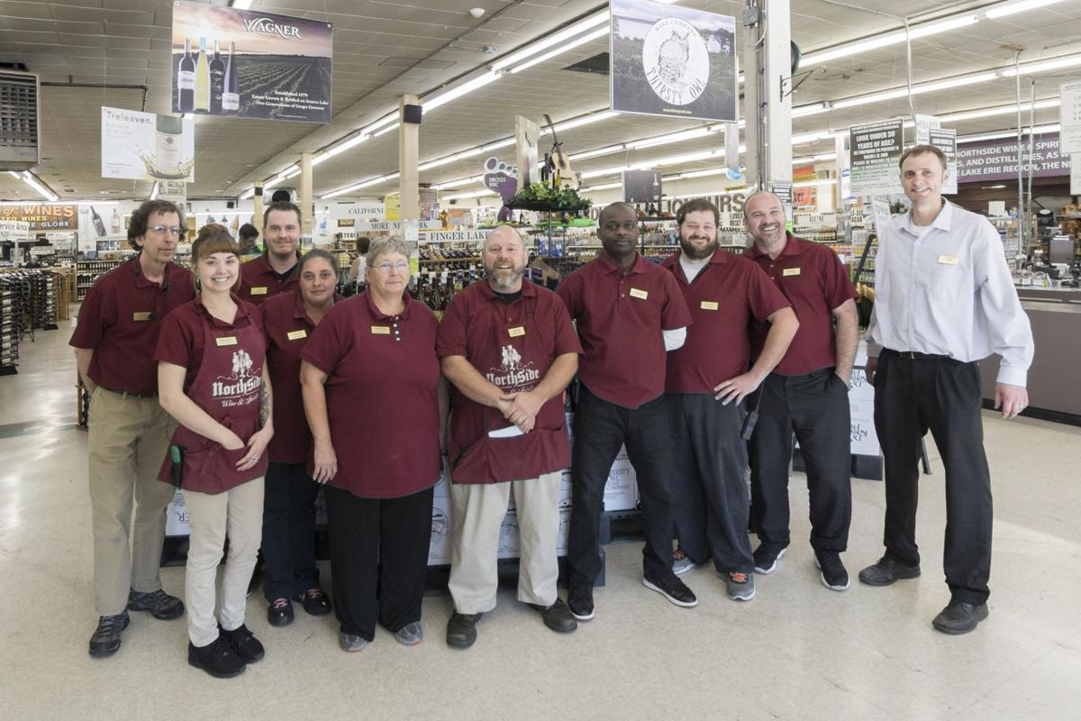The staff of Northside Wine & Spirits