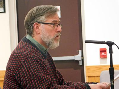 Town of Lansing Planning Board member Dean Shea shares his thoughts on the situation that occurred at a Planning Board meeting back in March at a Town Council meeting on Dec. 18. (Photo: Andrew Sullivan)