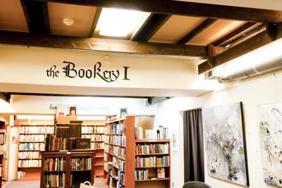The interior of the Bookery