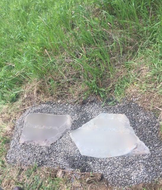 Headstones at Greensprings