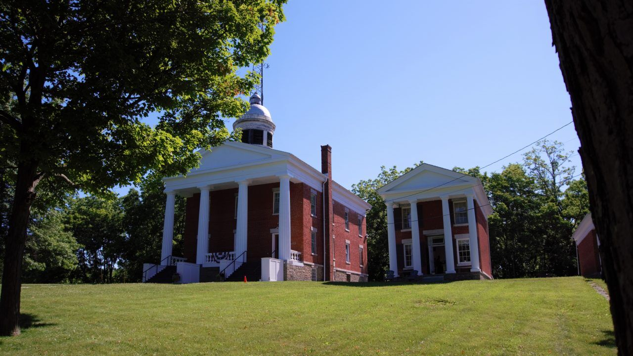 The historic Three Bears buildings in Ovid have been recently renovated.