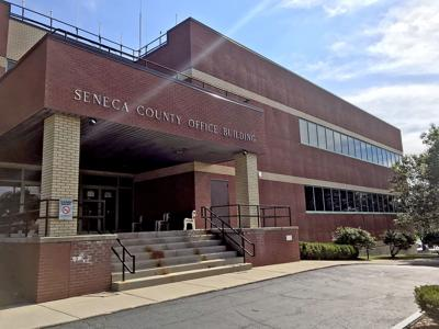 The Seneca County offices, where the Seneca County Board of Supervisors will hold meetings under the leadership of Varick Supervisor Bob Hayssen, who was recently voted County Board of Supervisors chair.