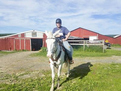 Cody Middaugh pivoted from baseball to horseback riding, finding his passion in the process. (Photo provided)