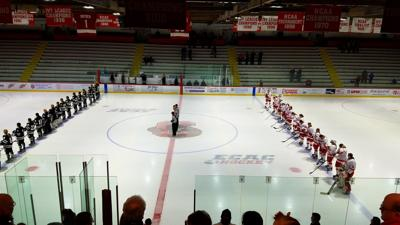 Lynah Rink for a January women's game