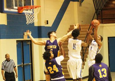 Jacksonville falters late in 58-49 loss to Center