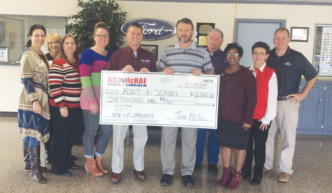 bill mcrae ford jacksonville chamber adopt a school partner to raise funds for scholarships and. Black Bedroom Furniture Sets. Home Design Ideas