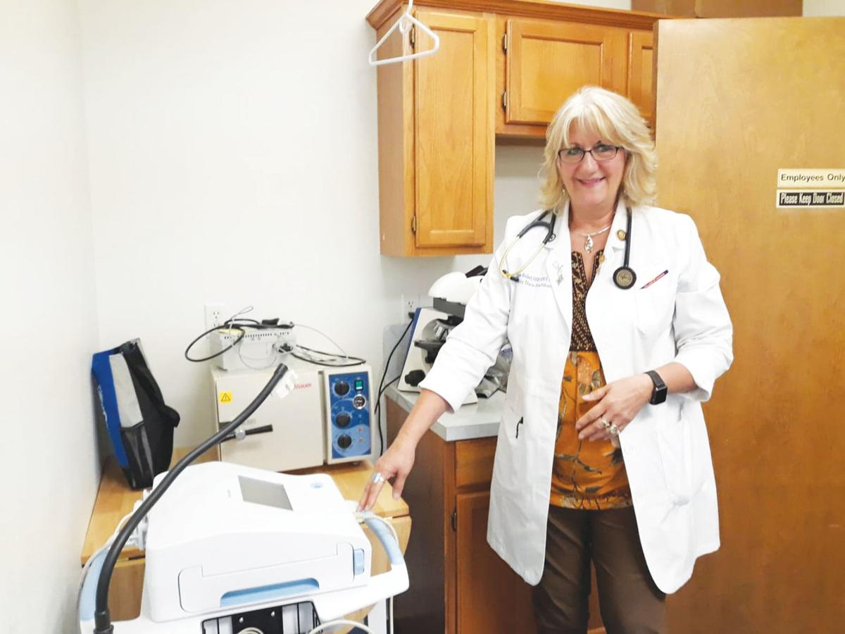 Dr. Elaine Ballard, who oversees the new health clinic at The HOPE Center