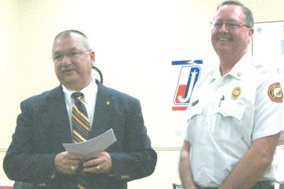 Kelley honored for service