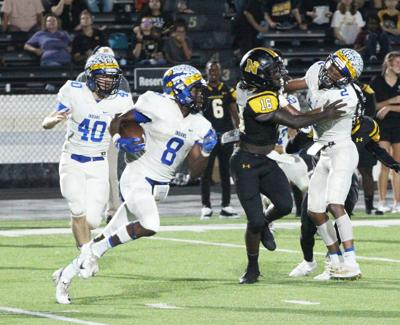 Jacksonville opens district play with a 49-14 loss to Nacogdoches