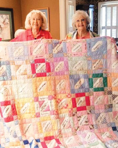 Local quilt author speaks to Tyler Guild