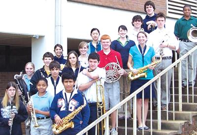 JHS band excels at contest