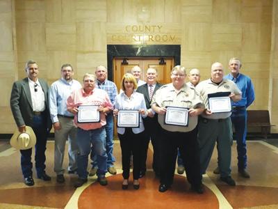Employees recognized