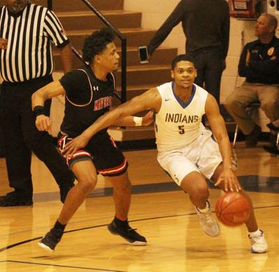 Marshall powers past Indians in late stages